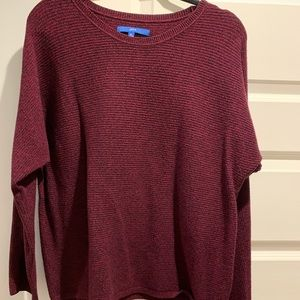 Apt 9 burgundy and black sweater